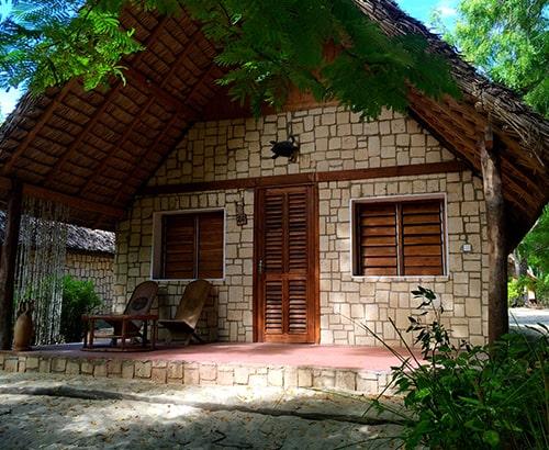 stone bungalows