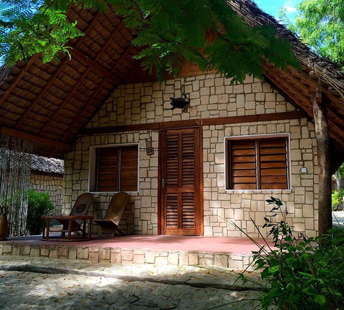 Les bungalows en pierre