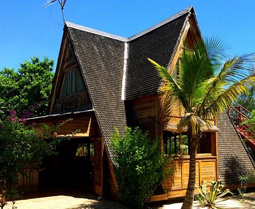 restauraton à la hôtel bamboo club